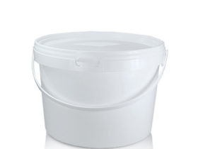 Semioval Packaging Container