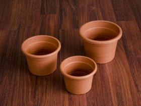 Ghivecele cilindrice de 14cm, 16cm si 18cm